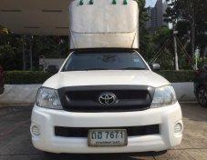 2010 Toyota Hilux Vigo J 2.7 Turbo CNG pickup เกียร์ธรรมดา  สีขาว