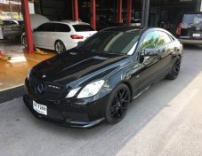 Mercedes Benz รุ่น E 200 CGI Coupe รถปี 2012 เกียร์ 7 Speed