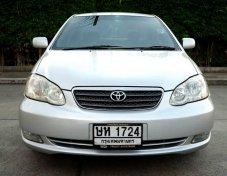 Toyota Altis1.8E เบนซิน ปี2004 รถสวยเดิมๆ ไม่เคยชน ไม่แก๊สครับ