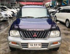 Mitsubishi G-WAGON ปี 2002 รุ่น 2.8 GLS 4WD