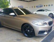 2016 BMW 218i รับประกันใช้ดี