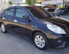 **ฟรีดาวน์** Nissan Almera 1.2 V-AT ปี 2013  สีดำ