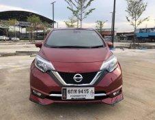 Nissan Note 1.2VL ปี 2017 ออกรถฟรี