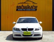 9,999บาท เครดิตดีฟรีดาวน์ BMW SERIES 320 i ปี 2008 สีขาว เกียร์ AT