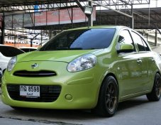 Nissan March 1.2 AT 2012 เครดิตดีฟรีดาวน์ครับ