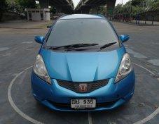 ขายรถ ปี 2009 Honda Jazz 1.5S สีฟ้า รถพร้อมใช้