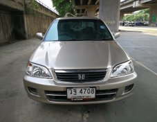 ขายรถ ปี 2002 Honda CITY Type-Z 1.5EXi