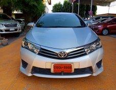 ฟรีดาวน์ กู้เต็มได้ Toyota Altis 1.8 ESOPRT ปี 2014