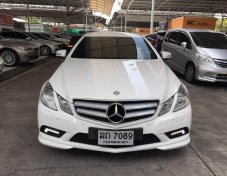 Mercedes-Benz E200 CGI BlueEFFICIENCY 1.8 W207 (ปี 2011) AMG Convertible AT