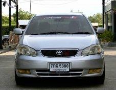 Toyota altis 1.6E เบรคabs ล้อVIPขอบ17 ปี2001 ออกรถ 0 บาทครับ