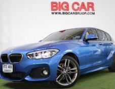 ขาย BMW 118 I M SPORT ปี 2015 a/t สีน้ำเงิน (75/V29)