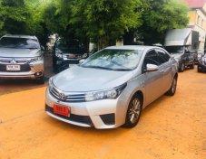 กู้เต็มได้ ฟรีดาวน์ Toyota Corolla Altis 1.6 E CNG ปี 2014