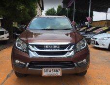 ฟรีดาวน์ ดอกเบี้ยถูก ไม่ต้องค้ำ ออกรถ0บาท ISUZU MU-X 3.0 4WD DVD Navigator 086-0123406
