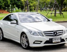 Mercedes-Benz E200 coupe 2012