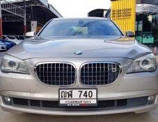BMW 740LI สีน้ำตาล ปี 2011  เกียร์A/T ABS Airbag ภายในลายไม้
