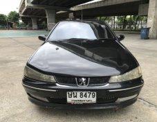 Peugeot 406 2.0STA ปี2004 สีดำ เล่มพร้อม ภาษีหมดปี62 สภาพสุดคุ้ม