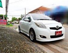 ** ออกรถ 5,000 ไม่ต้องค้ำ ** TOYOTA YARIS รุ่น J 1.5AT สีขาว ปี 2012