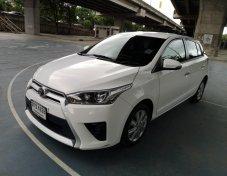 2014 Toyota YARIS 1.2G รถสวยมือเดียว เครดิตดี ฟรีดาวน์