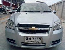 Chevrolet aveo 1.6LS ปี 2011 สีบรอนซเงิน