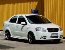 Chevrolet AVEO ปี2010 เกียร์ธรรมดา สีขาว รถสวย ไม่เคยชน ไม่เคยจมน้ำ เบรคABS เบาะหนังแท้ เครื่องเกียร์ช่วงล่างเยี่ยม แอร์เย็น ติดLPGหัวฉีดใช้ได้ดีทั้งสองระบบ ประหยัดมากนะครับ กระจกไฟฟ้า ก.มองข้างไฟฟ้า