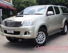 2013 Toyota Hilux Vigo Double Cab ฟรีดาวน์ ฟรีประกัน ไม่ต้องมีผู้ค้ำ