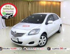 2012 Toyota VIOS J sedan ใช้เงินออกรถ 10,000 บาท