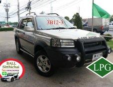 2002 Land Rover Freelander KV-6 LPG ใช้เงินออกรถ 10,000 บาท