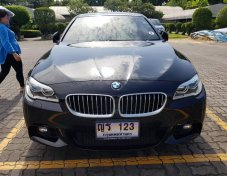 BMW 525D 2.0 M Sport สีดำ ปี 2014 รถบ้านสภาพรถบ้าน (สายไหม)