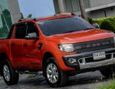 ขาย Ford Ranger WildTrak 3.2 ท๊อปสุด ขับ 4WD ปี 13 มือเดียว ไม่เคยชน
