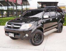 Toyota Hilux Vigo 3.0 E สีดำ 4 ประตู  Prerunner
