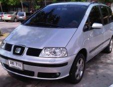 Seat Alhambra TDI 115 HP Diesel Turbo   1896 CC  ปี 2002