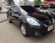 **ฟรีดาวน์** Nissan Almera 1.2 VL-AT ปี 12  สีดำ Push Start