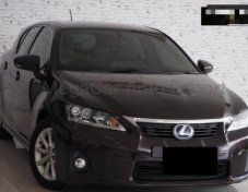 Lexus CT200H 11 Brown Edition