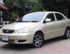 2002 Toyota Altis 1.6 J VVT-I ฟรีดาวน์ ฟรีประกัน ไม่ต้องมีผู้ค้ำ