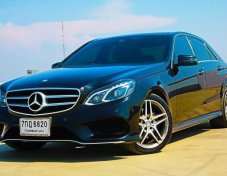 2015 MERCEDES-BENZ E300 รับประกันใช้ดี