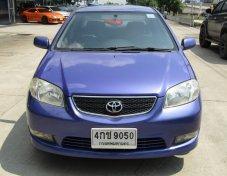 2003 Toyota Soluna Vios E 1.5 MT