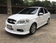 2012 Chevrolet Aveo 1.6ls cng สีขาว มือเดียว