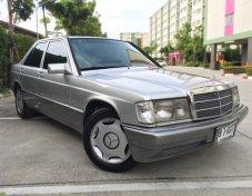 Benz 190E ปี93 สีเทา ออโต้ สวยจัด สีเต็ม เครื่องแน่น ช่วงล่างนุ่ม ราคามอไซค์