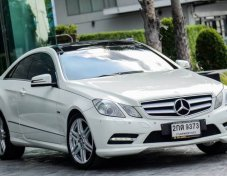 Mercedes-Benz E200 Coupe AMG 2012 (เกียร์7Speed)