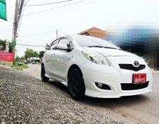** ออกรถ 5,000 ไม่ต้องค้ำ ** TOYOTA YARIS รุ่น J 1.5AT สีขาว ปี2010