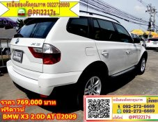 BMW X3 2.0D AT ปี2009