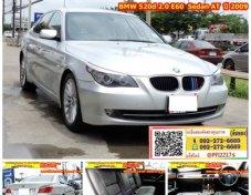 ราคา 699,000 บาท    BMW 520d 2.0 E60 (ปี 03-10) Sedan AT 2009