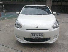ขายรถ MITSUBISHI MIRAGE 1.2 GLS ปี 2012 สีขาว