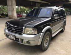 2004 FORD EVEREST 2.5 XLT 4WD สีดำ auto ราคาถูกสุดในตลาด