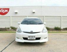 Toyota Wish 2.0Q ST3 Sport Touring lll ปี2009 ไม่ติดแก๊ส น้ำมันล้วนๆ