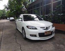 ขาย Mazda 3 สีขาว รถบ้าน  ขับไปกลับ Office สภาพดี วิ่งน้อย