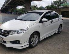 ฟรีดาวน์ Honda CITY 1.5V+ ปี 2016 สีขาว รถมือเดียว
