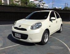 ขายรถ Nissan MARCH 1.2EL ปี 2012