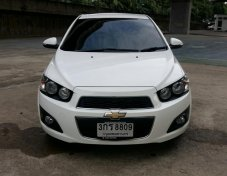 ขายรถ Chevrolet Sonic 1.4LT ปี 2014 สีขาว