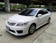 2012 Toyota Corolla Altis 1.6E CNG   รถพร้อมใช้ CNG โรงงาน เครดิตดีฟรีดาวน์